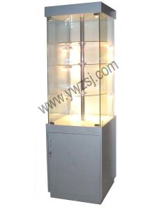 Wooden Revolving Display Cabinet