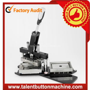 Rectangle Shape Fridge Magnet Button Making Machine (SDHP-N5) pictures & photos