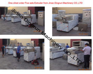 Snacks Extrusion Machine, Puffed Snack Food Extruder Food Extrusion Machine pictures & photos