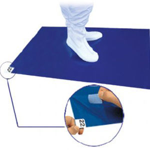Sticky Dust Mat in Clean Room, PE Sticky Mat, Tacky Mat, Sticky Pads pictures & photos