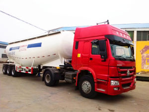 Bulk Cement Tank Transport Vehicle Semi Trailer (CTY65005) pictures & photos