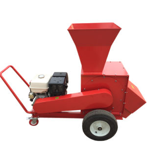 Shred Coconut Husk Machine Wood Chipper Shredder for Wood Branches and Leaves pictures & photos