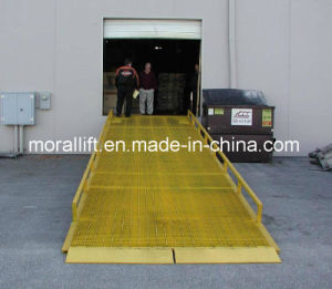 Workshop Forklift Container Loading Dock Ramp pictures & photos