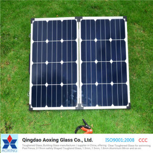 Ultra Clear Low Iron Solar Glass for Solar Cell pictures & photos