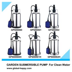Garden Sumbersible Pump Stainless Steel Sewage Pump pictures & photos