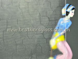 Clear Patterned Glass (Karatachi)