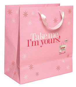 High Qulality Pink Colour Paper Bag (YY--B0324) pictures & photos