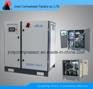 Stationary Double Screw Small Air Compressor pictures & photos
