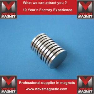 Cheap Powerful Strong Permanent Disc Neodymium Iron Boron Magnet pictures & photos