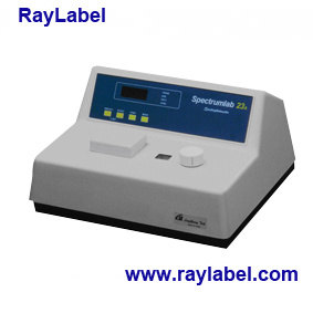 Visible Spectrophotometer, Spectrophotometer for Analysis Instrument (RAY-S23A) pictures & photos