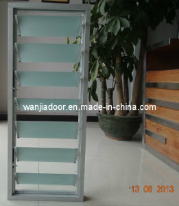 Wanjia Aluminum Glass Louver Window