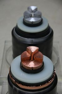 150kv XLPE Power Cable with Copper Wire Screen (1X500mm2)