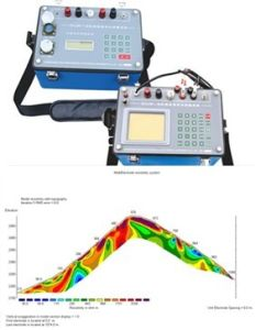 2D Eelectric Resistivity Imaging, Geophysical Equipment, Geo-Electrical Resistivity Equipment, Electrical Resistivity Tomograph, Groundwater Detector, Ert pictures & photos