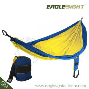 OEM Parachute Nylon Hammock with Compression Straps