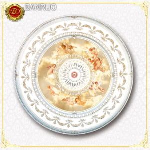 Sales The First Luxurious PS Ceiling Medallion with Angels (BRRD15-CF1-023) pictures & photos