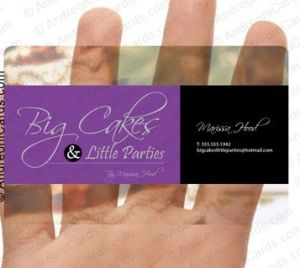 PVC Clean Bsiness and Name Card (Ft-B-001)