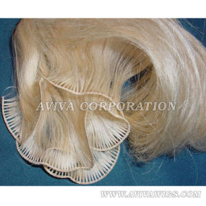 Human Hair Hand Tied Weft (AV-HE061) pictures & photos