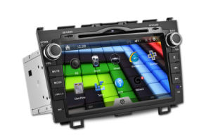 "HD 8"" Car DVD Player Head Unit GPS for Honda CRV Nav Radio System (H9950K)"