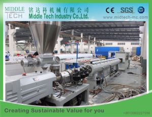 Plastic PVC Electric/Electrical Conduit Pipe/Tube Extrusion Machine pictures & photos