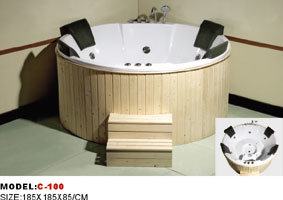 Massage Bathtub (C-100)