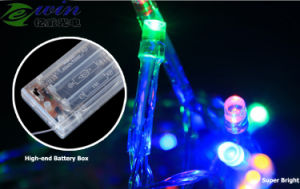 Battery Operated 30LED 3m LED String Light with Battery Box pictures & photos