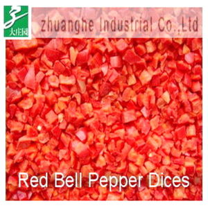 Frozen Red Bell Pepper Dices