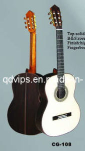 Solid Spruce Top Classical Guitar (CG-108)