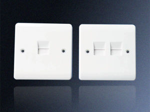 1 Gang Telephone Socket Outlet, Master