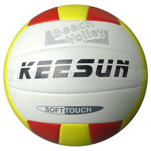 Machine Stitched with 18panels PVC Volleyball (VM5051) pictures & photos