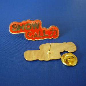 Printing Lapel Pin Epoxy-Dripping Metal Badges (GZHY-LP-012) pictures & photos