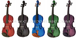 Violin / Colour Violin / Musical Instruments pictures & photos