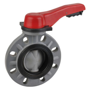 CPVC Butterfly Valve, Ss304/316 Stem, Viton Seat&O-Rings pictures & photos