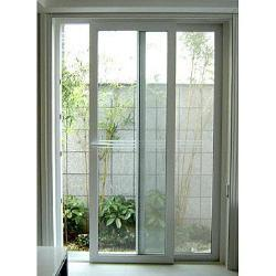 China thermal break aluminium sliding door with mosquito for Mosquito net for french doors