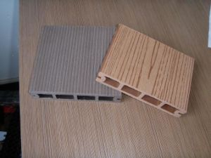 Eco-Friendly WPC Flooring, WPC Decking Floor (HO03145) pictures & photos