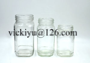 High Quality Glass Coffee Jar, Glass Food Jar, Glass Sugar Jar pictures & photos