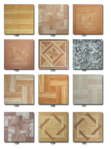 """Vinyl Tiles with Glue Backing 12""""*12""""*1.2mm pictures & photos"""