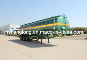 (6 Compartments 45 m3) Stainless Steel Oil Tank Semi-Trailer pictures & photos