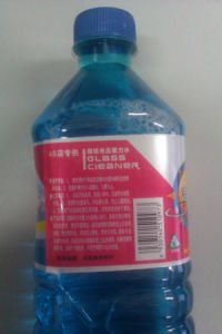 Msds Anti-Freezing Car Glass Cleaner for Car