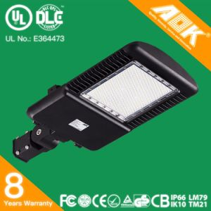 Dlc/UL LED Shoebox Parking Lot Light 75W 110W 150W 180W 225W 265W with 130lm/W