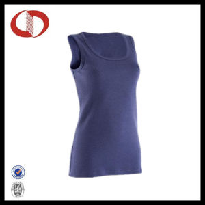 Plain Blank O- Neck Fitness Tank Tops for Ladies pictures & photos