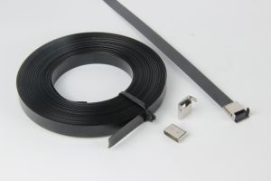 PVC Coated Stainless Steel Strapping Band pictures & photos