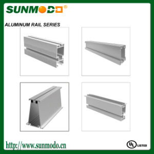 Customed Different Style Solar Panel Mounting Aluminum Rail pictures & photos