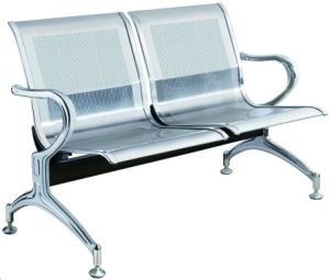 Stainless Steel Bank Hospital Airport Public Waiting Bench Chair (HX-PC305) pictures & photos