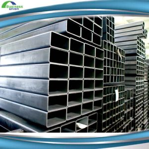 Weld Rhs Shs 40 X 10mm Structural Steel Pipe for Building Material Black