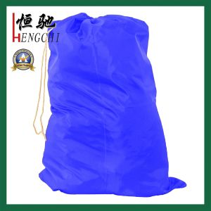 23′x 26′ Inch Drawstring Polyester Laundry Bag for Dirty Clothes pictures & photos