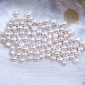8.5mm to 9mm Button Freshwater Pearl Wholesale by Kilogram pictures & photos