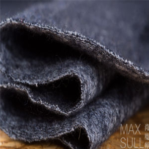 Wool and Cotton Fabrics for Autumn in Navy Blue pictures & photos