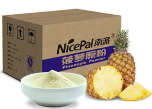 Nicepal Non GMO Pineapple Fruit Powder/ Pineapple Juice Powder pictures & photos