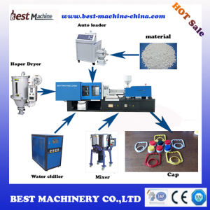 Servo System Plastic Oil Bottle Cap Injection Molding Making Machine with Best Price pictures & photos