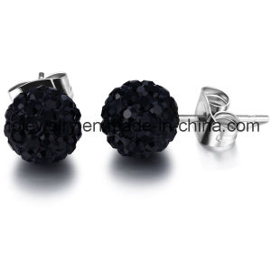Surgical Steel Jewelry Crystal 6mm 8mm 10mm Crystal Ball Earrings pictures & photos